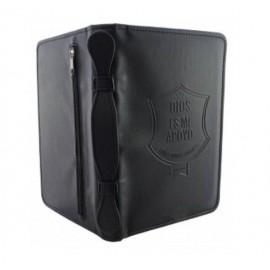 Forro para Biblia manual negro