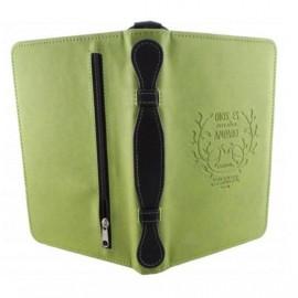 Forro para Biblia manual verde