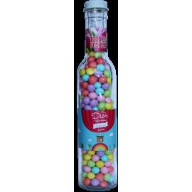 Botella con dulces todo es...