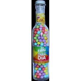 Botella con dulces cumpleaños