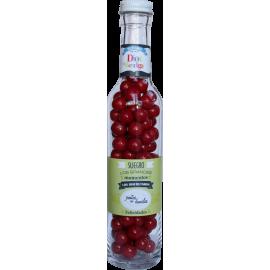 Botella con dulces  Suegro