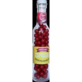 Botella con dulces  Especial