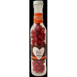 Botella con dulces  Abrazos...