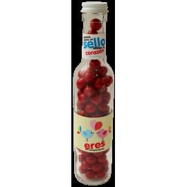 Botella con dulces Eres
