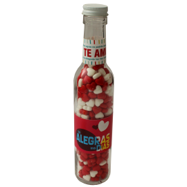 Botella con dulces Tu alegras